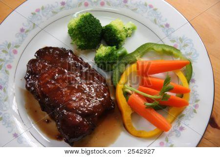 Porkchop With Vegetables