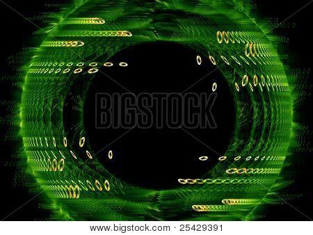 futuristic technology theme background