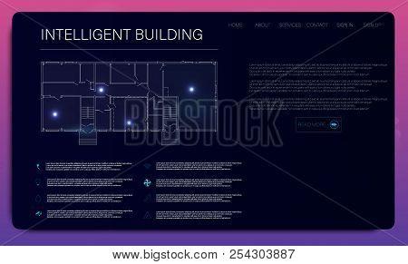 Futuristic Interface Hud Design. Hud Dashboard Display. Futuristic Screen Hud Concept. Hud Futuristi
