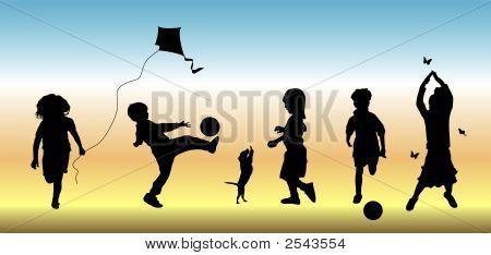 Kinder im Spiel