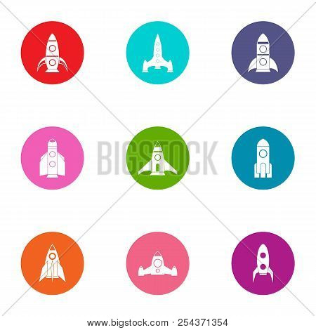 Beginning Icons Set. Flat Set Of 9 Beginning Vector Icons For Web Isolated On White Background