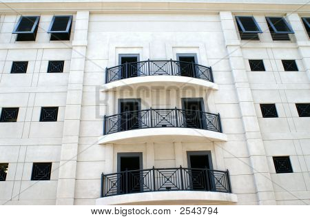 Architectural Condominium Close Up