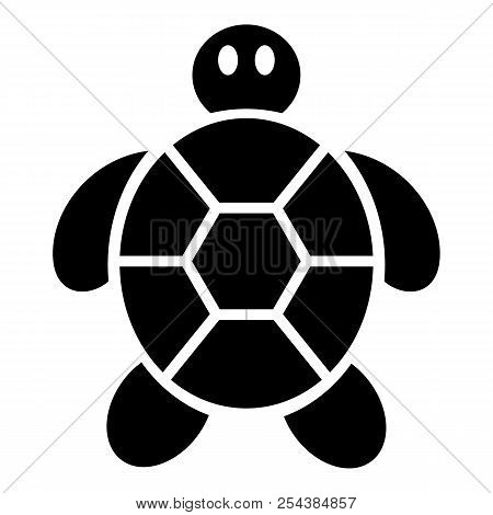 Child Turtle Icon. Simple Illustration Of Child Turtle Vector Icon For Web Design Isolated On White