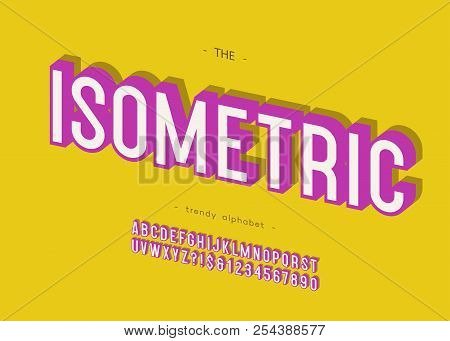 Vector Isometric 3d Vector & Photo (Free Trial) | Bigstock
