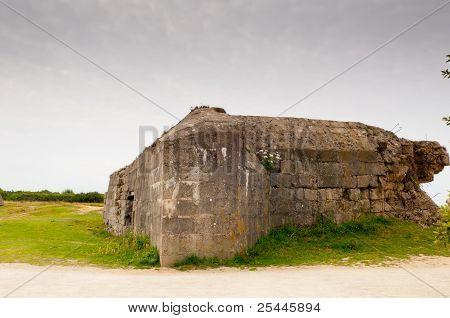 Destroyed German Bunker