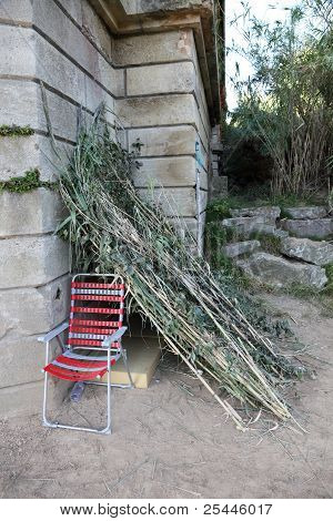 Sleeping Place Of A Homeless