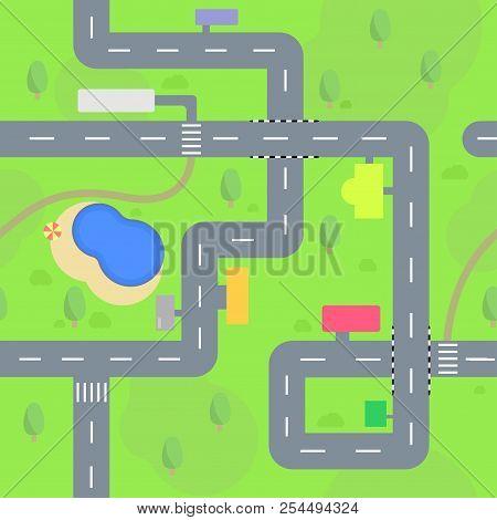 6032035 6032035 Streets Seamless Pattern