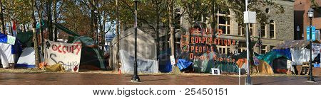 Occupy Seattle, Wall Street Protest