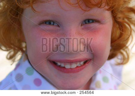 Little Freckle Girl