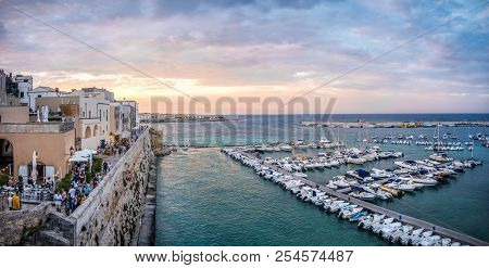 Apulia - Salento - Otranto Harbour And Old South Italy Village