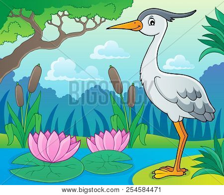 Bird Topic Image 9 - Eps10 Vector Picture Illustration.