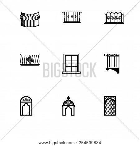 Set Outline Icon Eps Vector & Photo (Free Trial) | Bigstock