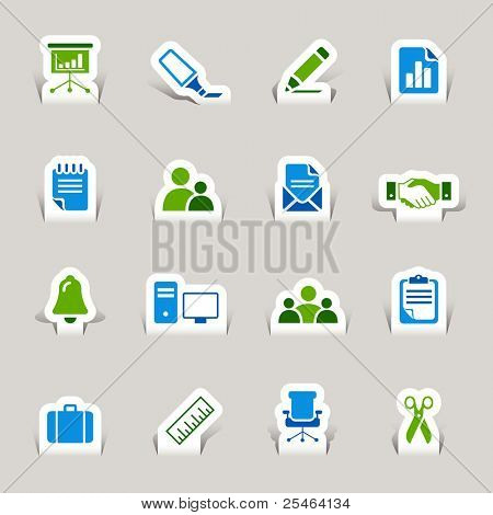 Papercut - Office and Business icons