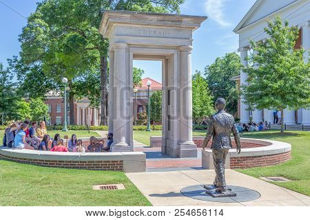 James Meredith Monument At University Of Mississippi