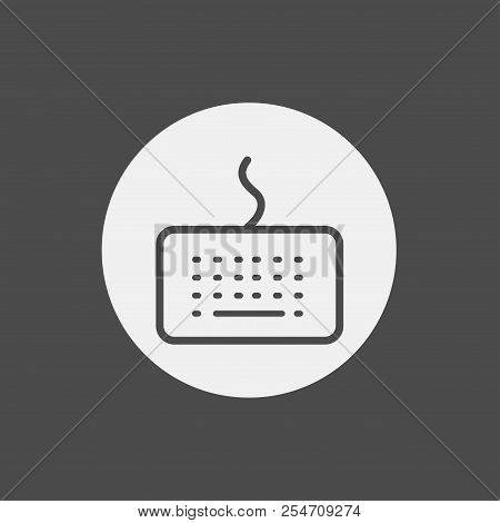 Keyboard Icon. Element Of Web Icons For Mobile Concept And Web Apps. Nolan Style Keyboard Icon Can B