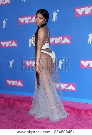 Nicki Minaj at the 2018 MTV Video Music Awards held at the Radio City Music Hall in New York, USA on August 20, 2018.