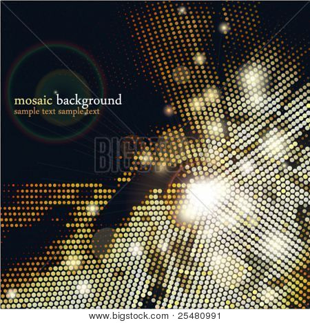 Mosaic Background. EPS10.