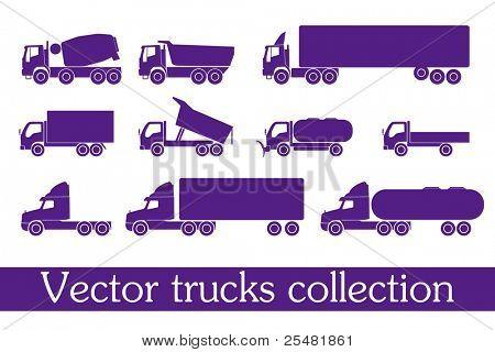 vector trucks collection