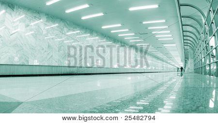 underground hall in metro