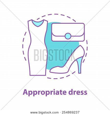Formal Wear Concept Icon