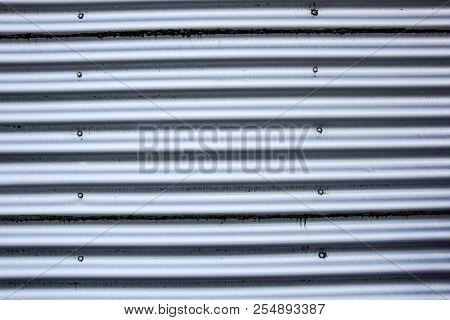 Corrugated Metal Siding . Metal Close Up Panels
