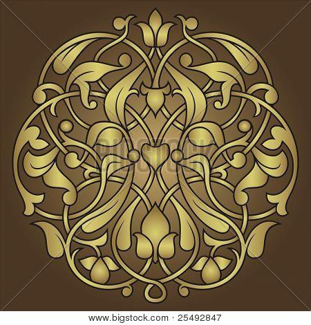 Arabesque ornament background
