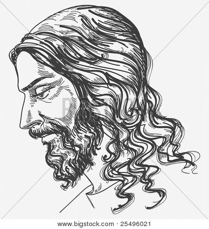 Jesus' gentle sight