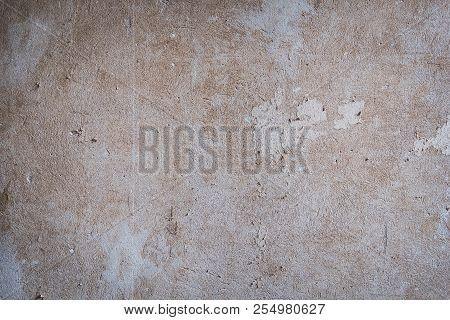 vintage plaster  wall background -  restoration or refurbishment concept poster
