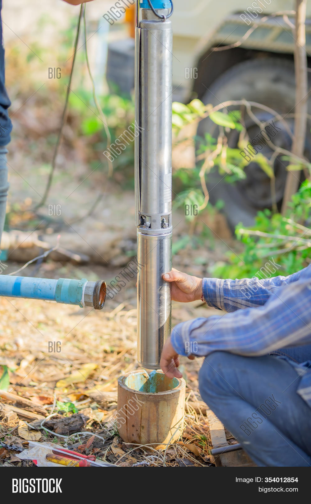 Submersible Pumps Image Photo Free Trial Bigstock