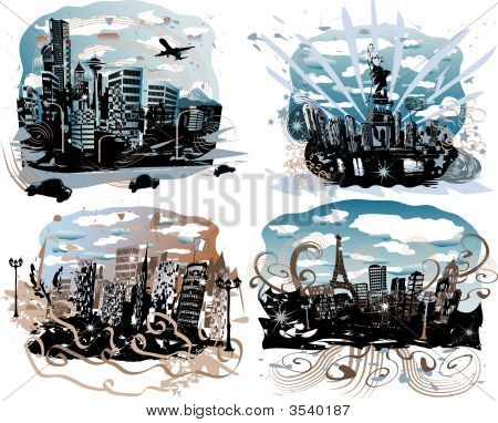 Retro Cities of the World