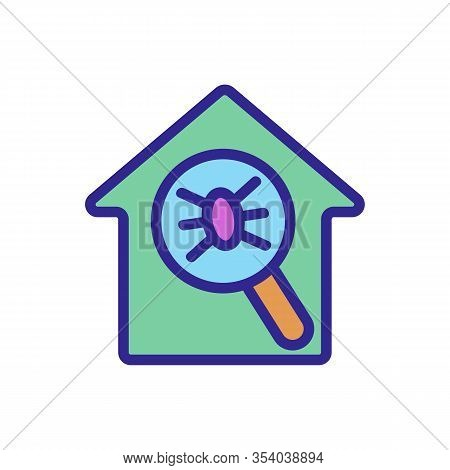 Insect Control Icon Vector. Thin Line Sign. Isolated Contour Symbol Illustration