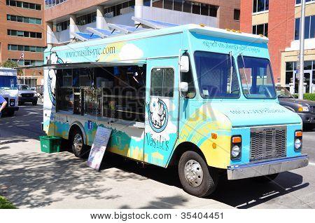 Vasili's food truck