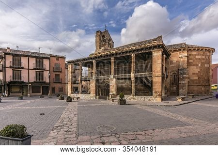 Church Of San Miguel, Built In The 12Th Century (spain)