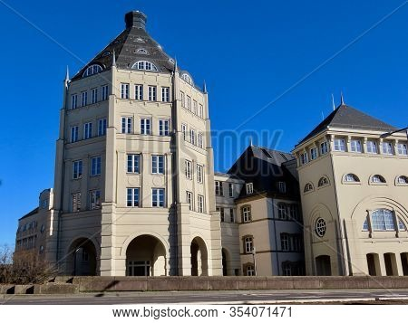 Judiciary City In Luxembourg - Modern Architectural Ensemble With Courts And Legal Offices Built To