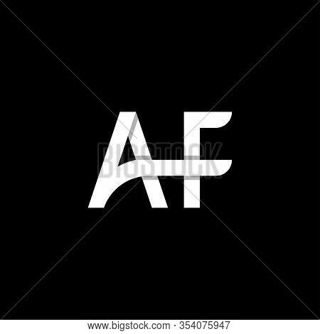 Af Letter Logo Design Template Vector Eps