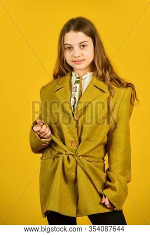 Perfect Female. Beauty And Fashion. Looking Trendy This Fall Season. Vintage Concept. Confident And