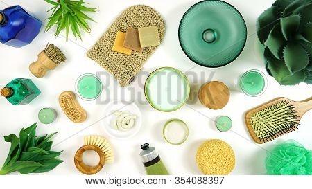 Natural Hemp Skincare Cosmetics, Moisturizer Cream And Beauty Products