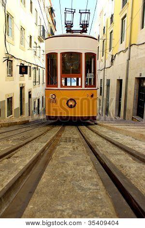 Bica Funicular, Lisbon, Portugal