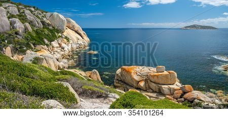 Beautiful Scenic Landscape Of Wilsons Promontory National Park In Victoria, Australia