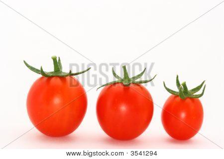 3 Cherry Tomatoes