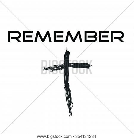 Christian Lenten Quote, Lent Season Special, Typography For Print Or Use As Poster, Card, Flyer Or T