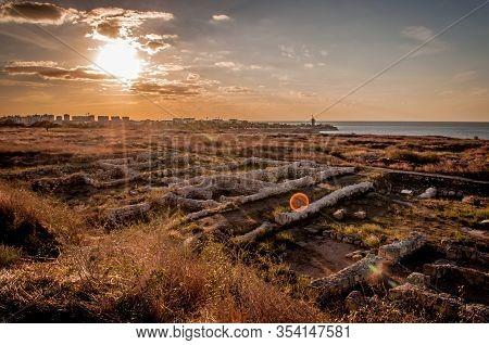 Chersonesos Tavrichesky - Ancient City At Crimea Peninsula