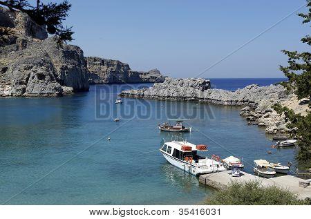 St Pauls Bay, Rhodes