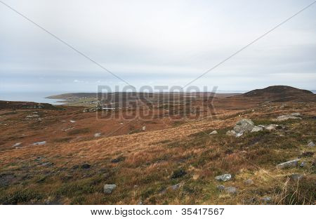 Seaside Scottish Landscape