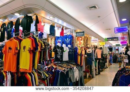 Bangkok, Th - Dec 11: Clothing Stores At Platinum Fashion Mall On December 11, 2016 In Bangkok, Thai
