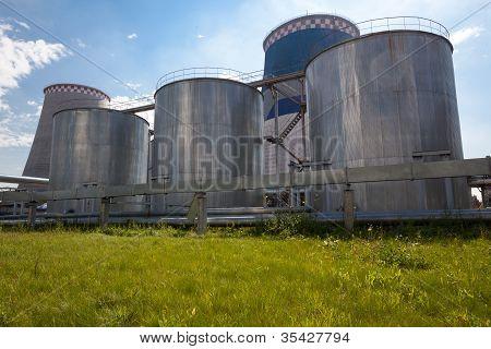 Fuel Oil Energy Station