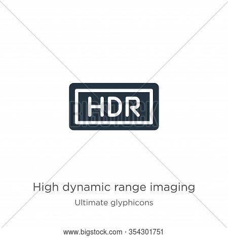 High Dynamic Range Imaging Icon Vector. Trendy Flat High Dynamic Range Imaging Icon From Ultimate Gl