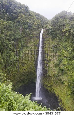Wailua Waterfall, Maui, Hawaii