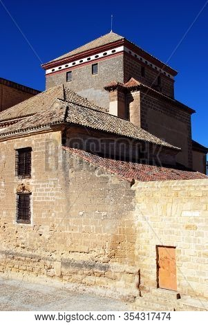 Osuna, Spain - November 13, 2008 - View Of Santa Maria Church (iglesia Colegial De Santa Maria),  Os