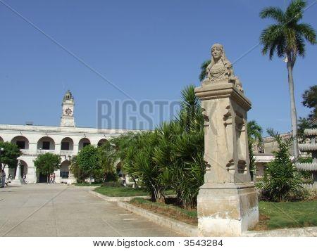 Sculpture In Manzanillo'S Central Park